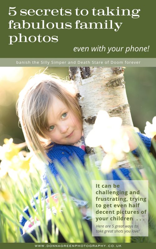Secrets to taking fabulous family photos eBook